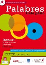Café philo Palabres - Incourt